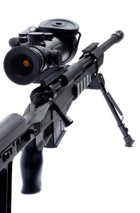 Chốt lên đạn của ORSIS T-5000.