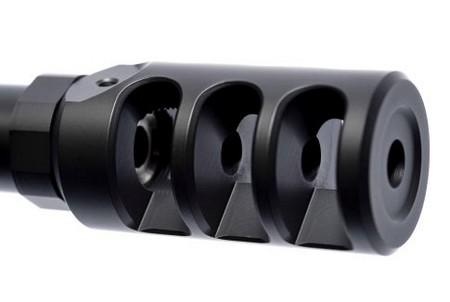 Loa che lửa đầu nòng giảm giật 3 ngăn của T-5000.