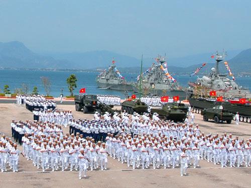 Hải quân Việt Nam vùng IV luyện tập
