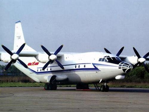 Máy bay vận tải Y-8 của Trung Quốc.