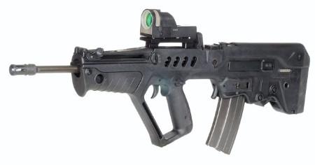 TAR-21 đã được IMI sản xuất với khá nhiều các biến thể cho các nhiệm vụ khác nhau, như GTAR-21, CTAR-21, STAR-21, TC-21 và MTAR-21. Ảnh TAR-21 bản tiêu chuẩn.