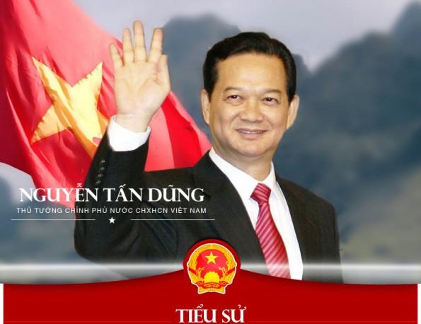Tieu su Nguyen Tan Dung