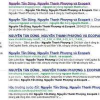 """""""Nguyễn Tấn Dũng, Nguyễn Thanh Phượng và Ecopark"""" - Một bài viết xuyên tạc"""