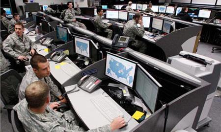 Trung tâm an ninh và điều hành mạng của Không quân Hoa kì tại Colorado.