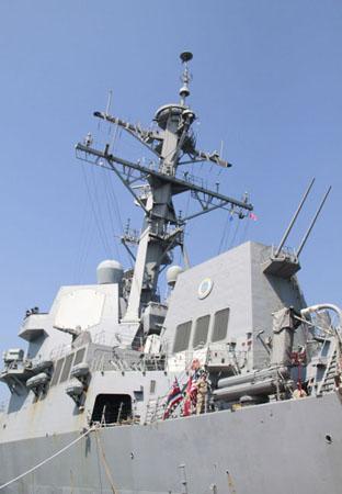 Chiến hạm được trang bị động cơ 4 turbin gas LM-2500-30 công suất 75MW và có thể đạt tốc độ trên 30 hải lý/h.