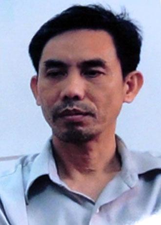 Nguyễn Quốc Quân từng bị tuyên án 6 tháng tù vì tội khủng bố. Ảnh: Quốc Thắng
