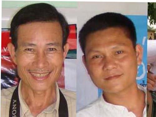 Ông Nguyễn Văn Hải và Phan Thanh Hải