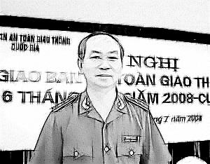 Đồng chí Trần Đại Quang tại Hội nghị Giao ban An toàn giao thông năm 2008