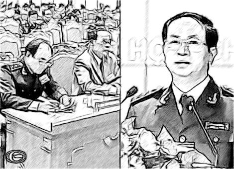 Thượng tướng Trần Đại Quang dự Bế mạc Hội nghị phổ biến, quán triệt Nghị quyết Trung ương 4