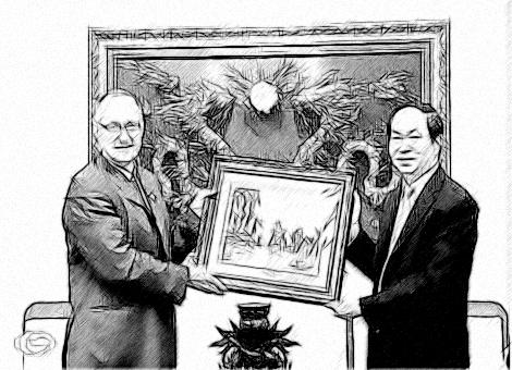 Bộ trưởng Trần Đại Quang tiếp Đại sứ Liên bang Thụy Sỹ