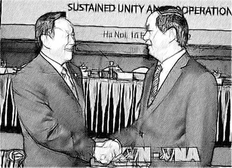 Bộ trưởng Trần Đại Quang tiếp khách