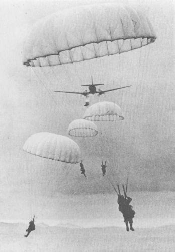 Biệt kích dù Pháp trong chiến tranh Việt Nam.