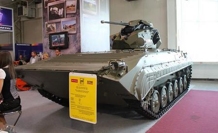 Về cơ bản, mẫu hiện đại hóa BMP-1 được Sitno Teams và BAE Systems giới thiệu tại triển lãm IDEB 2012 tập trung vào thay thế bằng tháp pháo điều khiển từ xa mới, hỏa lực kém hơn không nhiều so với vũ khí trên tháp pháo TURRA 30 của xe MGC-1.