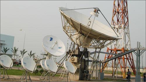 Đài Điều khiển vệ tinh Quế Dương (Hà Nội) đã hoàn thành lắp đặt và sẵn sàng tiếp nhận việc điều khiển vệ tinh