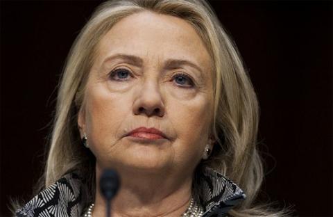 Ngoại trưởng Mỹ Hillary Clinton. Ảnh: AFP