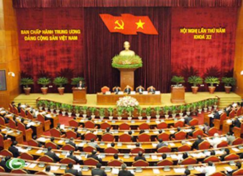 Hội nghị Trung ương 5 đã xem xét và quyết định nhiều vấn đề quan trọng – Ảnh: VGP