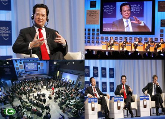 """Thủ tướng Nguyễn Tấn Dũng tại Diễn đàn Kinh tế Thế giới về Đông Á 2010 với chủ đề - """"Nâng cao vai trò của châu Á,"""""""
