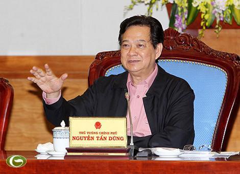 Thủ tướng Nguyễn Tấn Dũng kết luận về vụ cưỡng chế ở Tiên Lãng