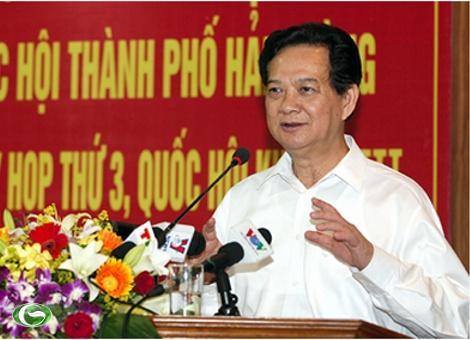 Thủ tướng Nguyễn Tấn Dũng: Chính phủ sẽ xem xét các vấn đề liên quan đến thời hạn giao đất, cho thuê đất