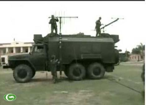 Hình ảnh huấn luyện của Đoàn tác chiến điện tử 87