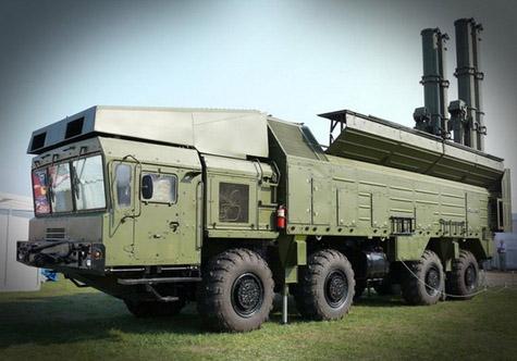 Tổ hợp tên lửa phòng thủ bờ biển Bastion.