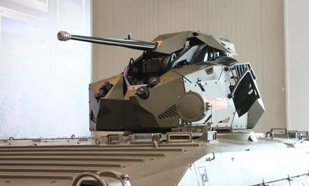 TRT được trang bị một súng máy tự động bắn nhanh 25 mm M242 Bushmaster và một súng máy đồng trục 7,62 mm. Cơ cấu điều khiển hệ thống tháp pháo kiểu kết hợp cơ - điện và hệ thống ngắm bắn/quan sát 360 độ, thời gian phản ứng và tấn công cực nhanh.