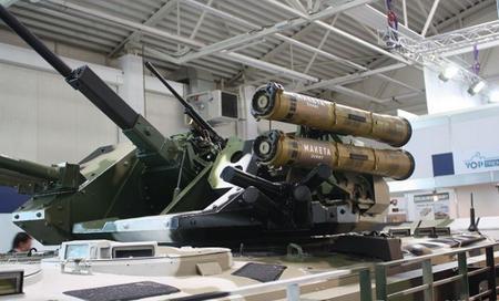 Tháp pháo 73 mm 2A28 Grom đã được thay thế bằng một tháp pháo điều khiển từ xa TURRA 30 hoàn toàn mới. Xe được lắp giáp phản ứng nổ thế hệ mới.