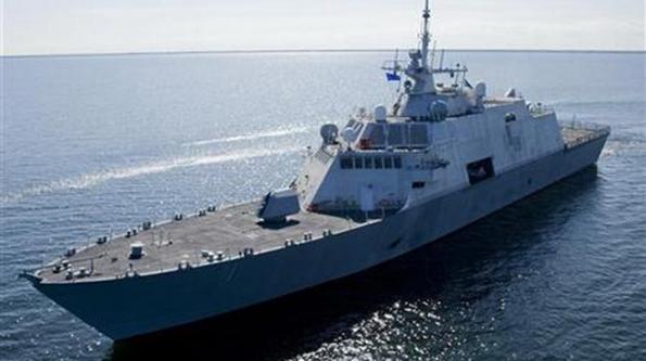 Tàu chiến USS Freedom của hải quân Mỹ - Ảnh: Reuters