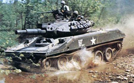 Xe tăng hạng nhẹ M-551 Sherida