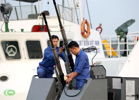 Cảnh sát biển VN: Chủ động bảo đảm kỹ thuật cho vũ khí, khí tài mới