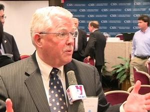 Ông Carlyle Thayer, giáo sư của Học viện Quốc phòng Australia. Ảnh: TTXVN