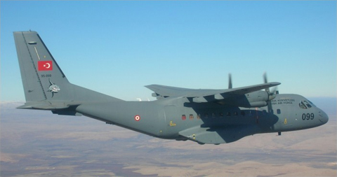 Một chiếc Casa CN-235 của quân đội Thổ Nhĩ Kỳ. Ảnh minh họa: Airvectors