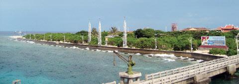 Đảo Trường Sa Lớn của Việt Nam