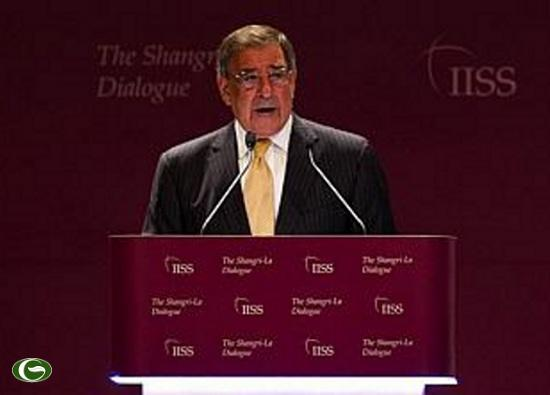 Bộ trưởng Quốc phòng Mỹ Leon Panetta tại cuộc Đối thoại Shangri-La ở Singapore