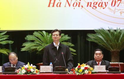 Thủ tướng Nguyễn Tấn Dũng phát biểu ý kiến chỉ đạo tại hội nghị Phòng chống Tham nhũng