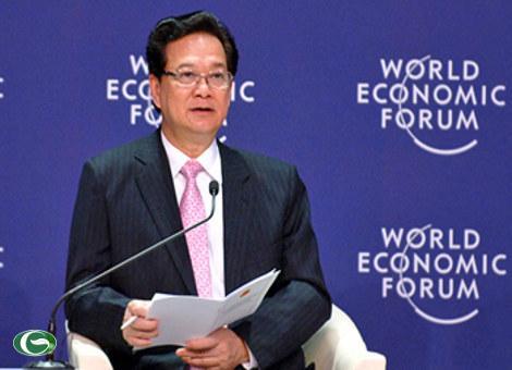 Thủ tướng Nguyễn Tấn Dũng phát biểu tại Hội nghị WEF