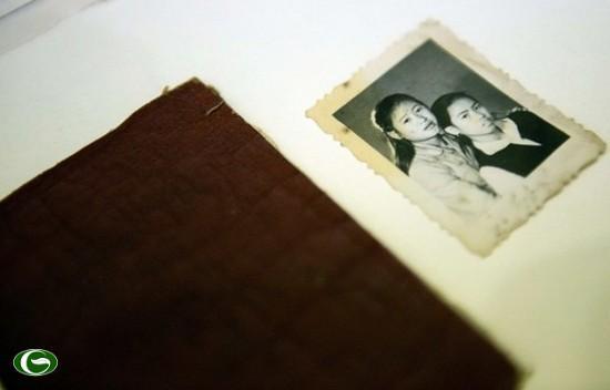 Một tấm ảnh được tìm thấy trong cuốn nhật ký của Vũ Đình Đoàn.