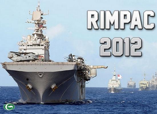 22 quốc gia từ khắp nơi trên thế giới sẽ tham gia cuộc diễn tập hải quân RIMPAC 2012 lớn nhất thế giới