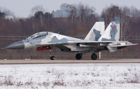 Su-30K sẽ được hiện đại hóa lên chuẩn Su-30KN với sức mạnh không chiến vượt trội. Ảnh minh họa.