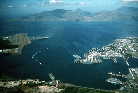 Căn cứ hải quân Subic ở Philippines, nơi Mỹ từng đóng quân trong thế kỷ trước. Ảnh: Wikipedia.