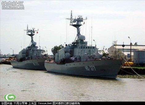 Những chiếc tàu chiến của Việt Nam chỉ có lượng rẽ nước khoảng 500 tấn so với 67.000 tấn như tàu sân bay Trung Quốc nhưng chúng cơ động hơn và trang bị vũ khí rất tốt.