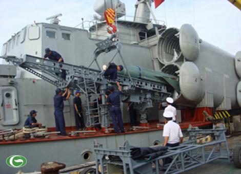 Vũ khí khủng là các tên lửa chống tàu trên các tàu 1241RE của Việt Nam