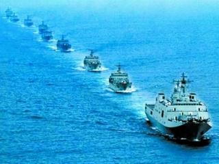 Biển Đông lại dậy sóng vì tàu chiến Trung Quốc