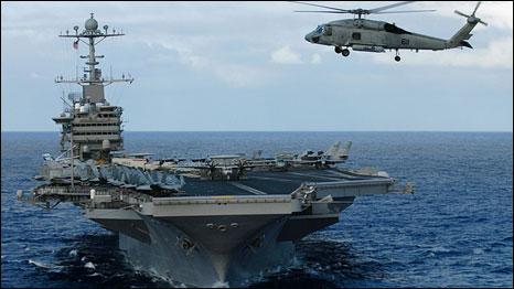 Mỹ hiện vẫn nắm thế thượng phong trên Thái Bình Dương