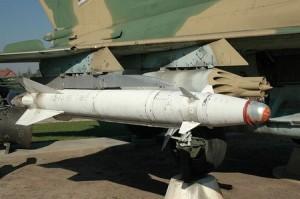 Tên lửa Kh-25 lắp trên máy bay Su-22.