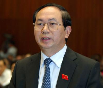 Bộ trưởng Công an Trần Đại Quang