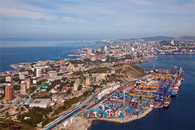 Thành phố Vladivostok, nơi sẽ diễn ra Hội nghị cấp cao Diễn đàn hợp tác kinh tế châu Á-Thái Bình Dương năm 2012 (APEC 2012). Ảnh tư liệu