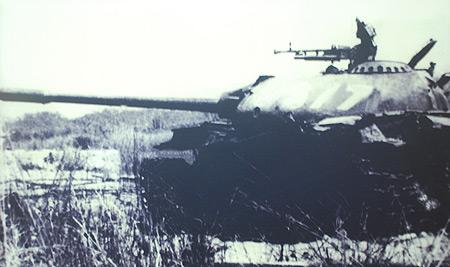 Xe 377, huyền thoại của Binh chủng Tăng Thiết giáp trong cuộc kháng chiến chống Mỹ (Ảnh do Bảo tàng Tăng – Thiết giáp cung cấp).