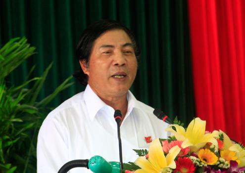 """Ông Nguyễn Bá Thanh: """"Trái tim nóng nhưng cái đầu phải lạnh"""". Ảnh: Nguyễn Đông"""