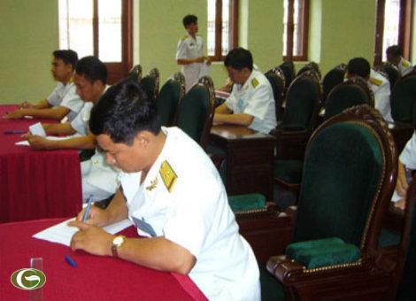Sát hạch toàn diện cho chỉ huy Hải quân Việt Nam